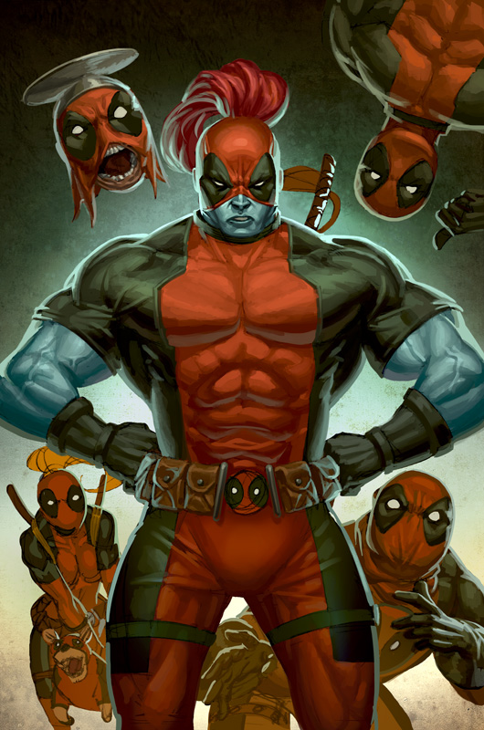 Deadpool Rob Liefeld Creations