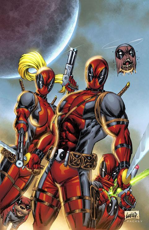 Deadpool rob liefeld creations for Headpool