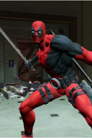 NEW!! DEADPOOL VIDEO GAME SCREENSHOTS! REJOICE!