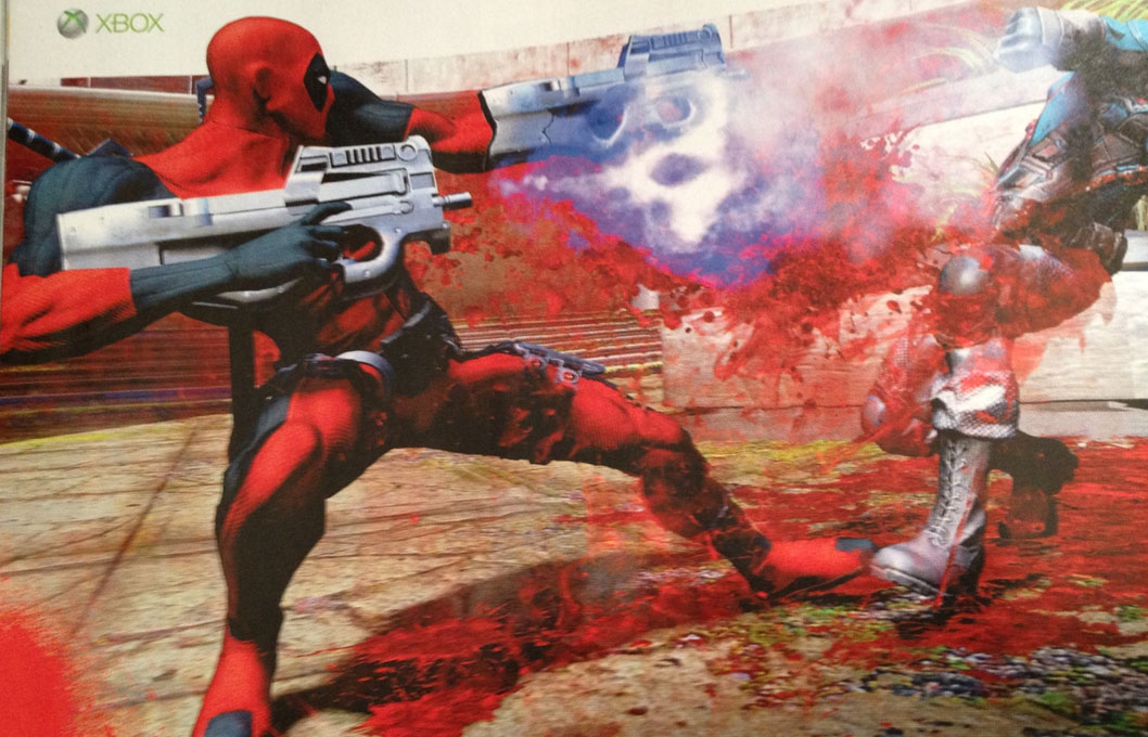 DEADPOOL Video Game News! CABLE!!!