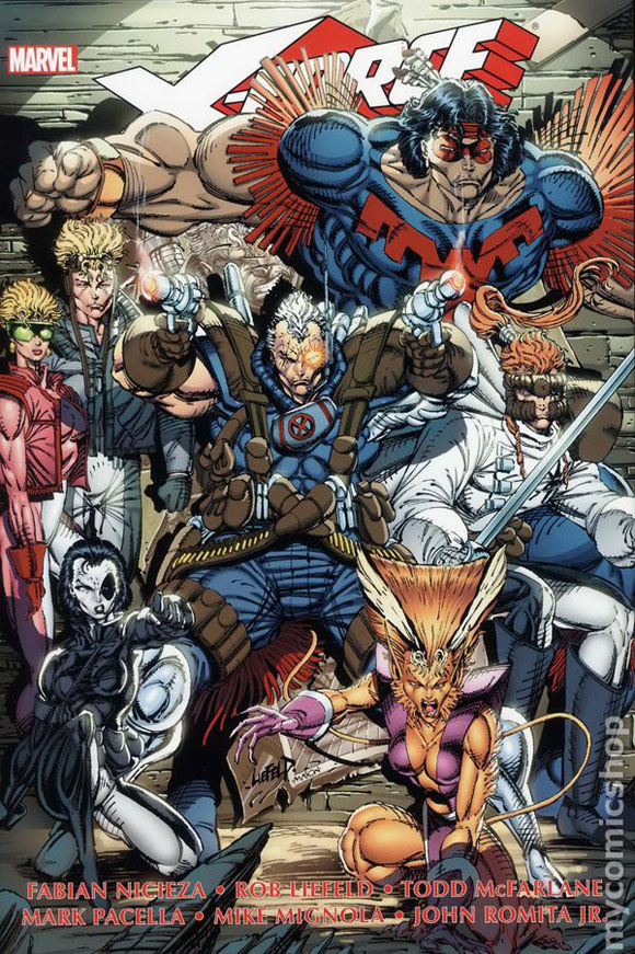X-force (1991 1st series) comic books