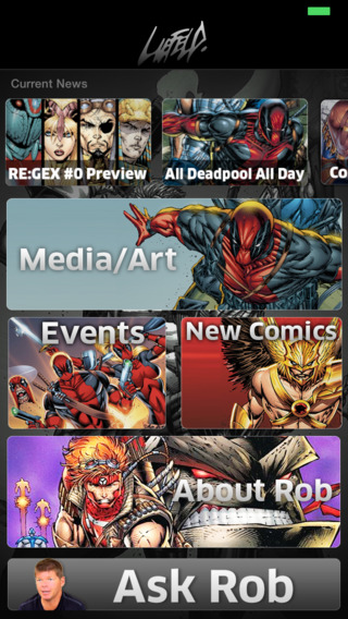 Rob Liefeld App