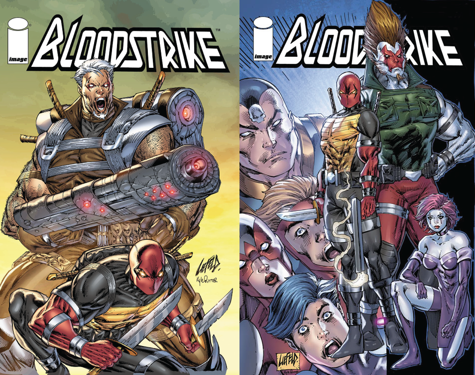 Bloodstrike Covers