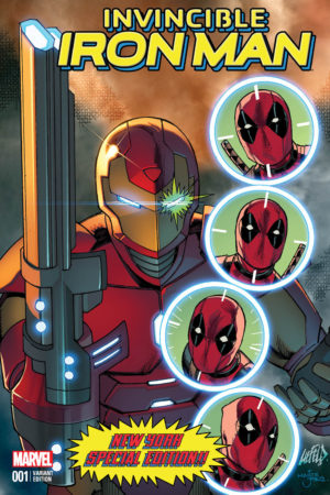 Iron Man Deadpool Variant