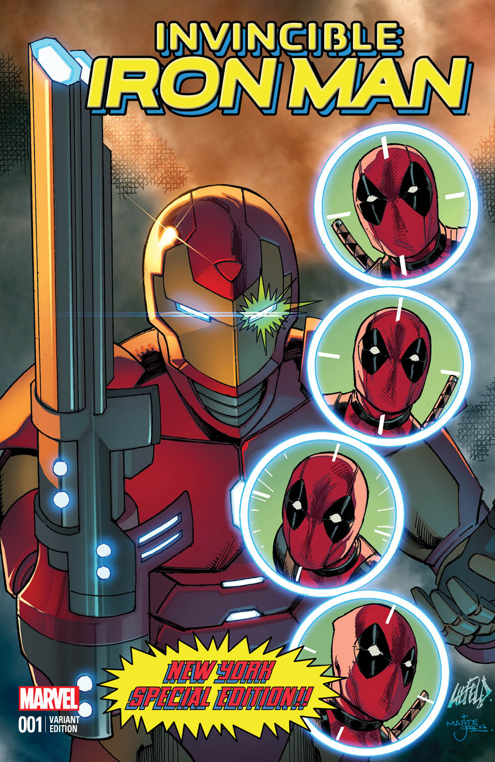 Iron Man Deadpool Variant