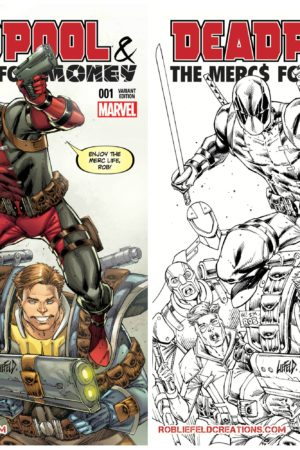 Deadpool: Mercs For Money #1 Store Exclusive!