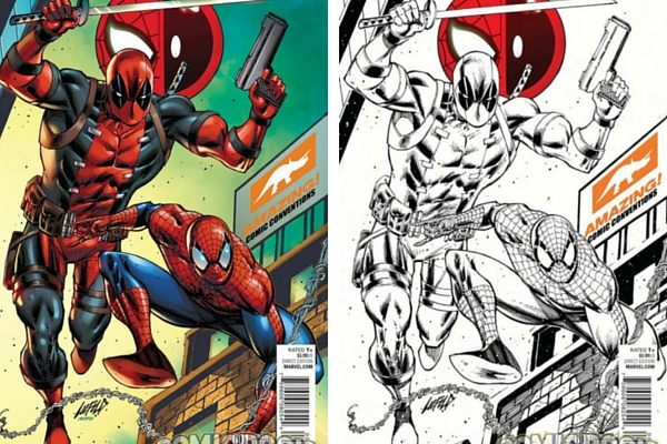 Spiderman/Deadpool #1 Signed Exclusive Variant In Store