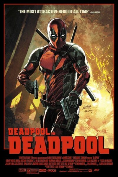 Deadpool Mondo Print Liefeld Print