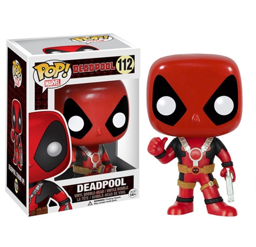 Deadpool Pop Thumbs Up Figure
