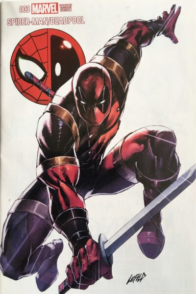 Toronto Spider-Man/Deadpool Exclusive Liefeld Variant!