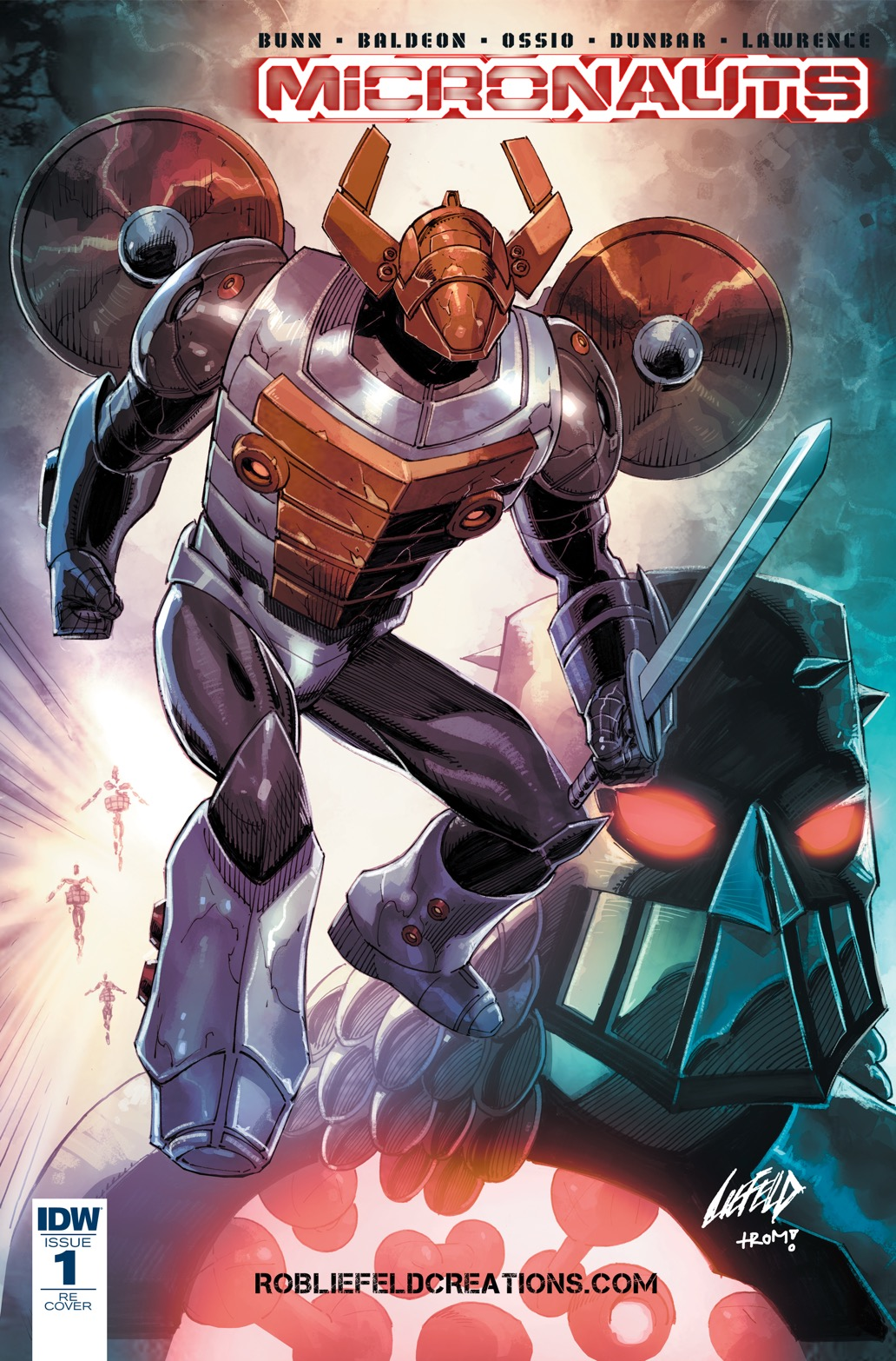 Liefeld Micronauts #1 Variant.