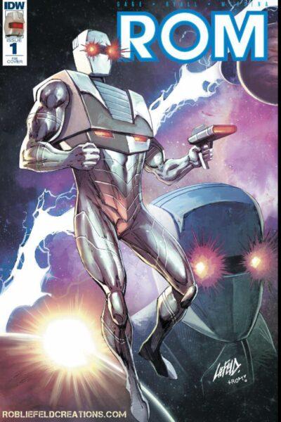 ROM #1 Comic Book