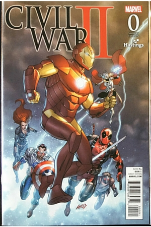 Civil War #0 variant