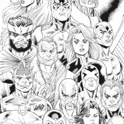 Inhumans Xmen Rob Liefeld variant