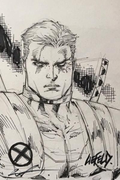 Alamo Comic Con Extreme Liefeld Sketch