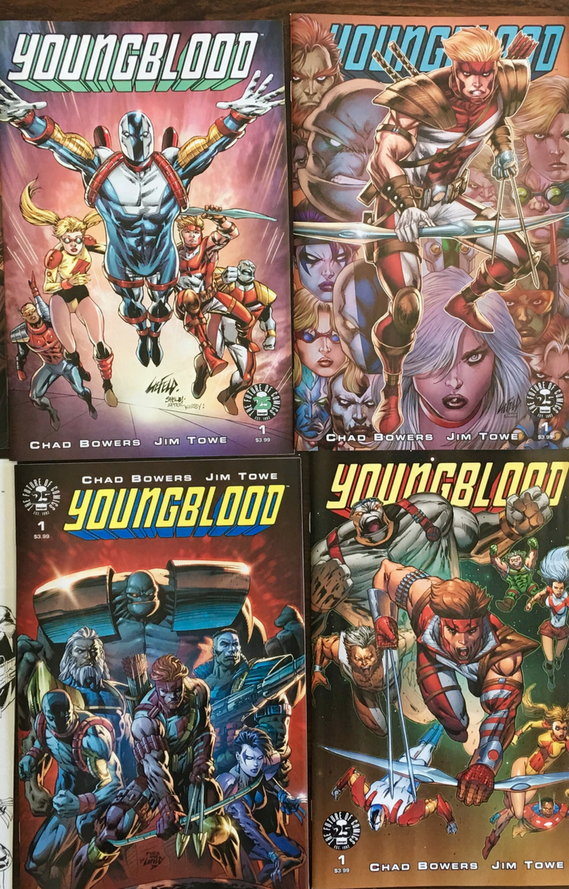 Youngblood Variant Pack