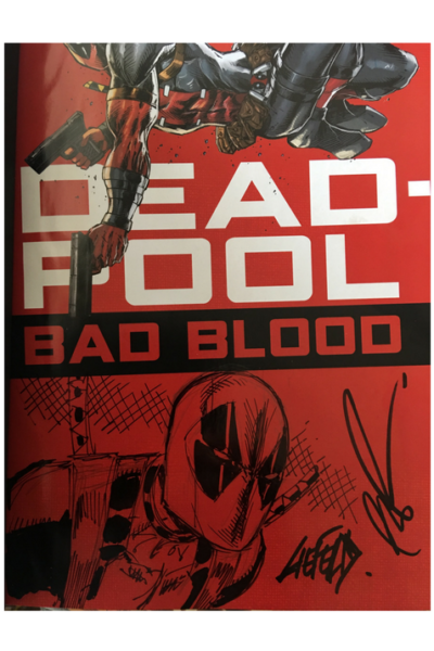 Deadpool Bad Blood Remarque