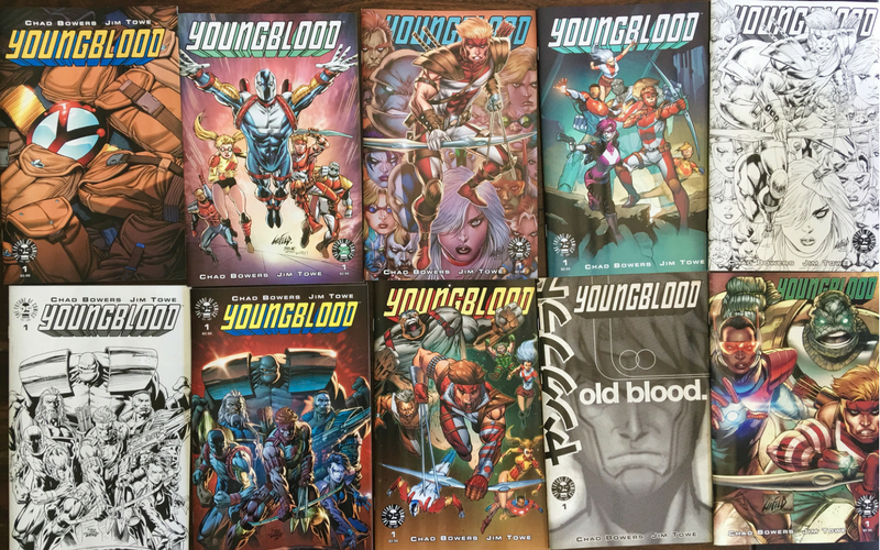 Super-Deluxe Youngblood Variant Pack!