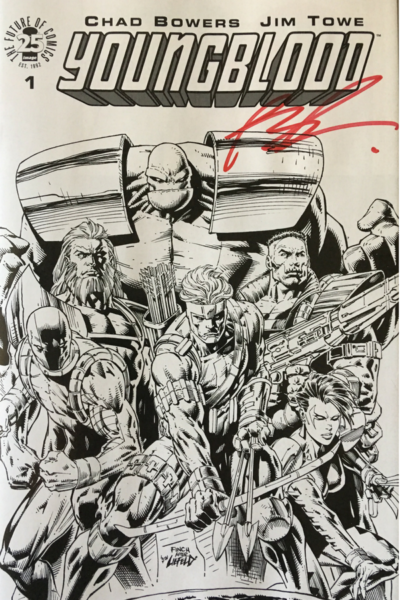 Youngblood #1 Exclusive Sketch Edition