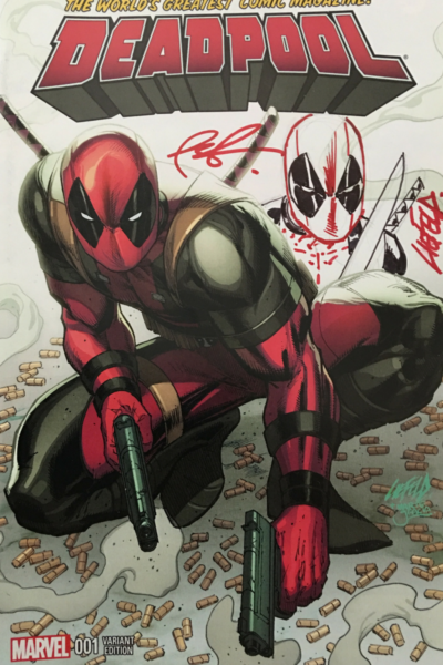 Rob Liefeld Re-mark Deadpool #1 C