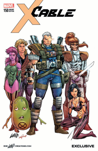 Classic Cable Liefeld Cover