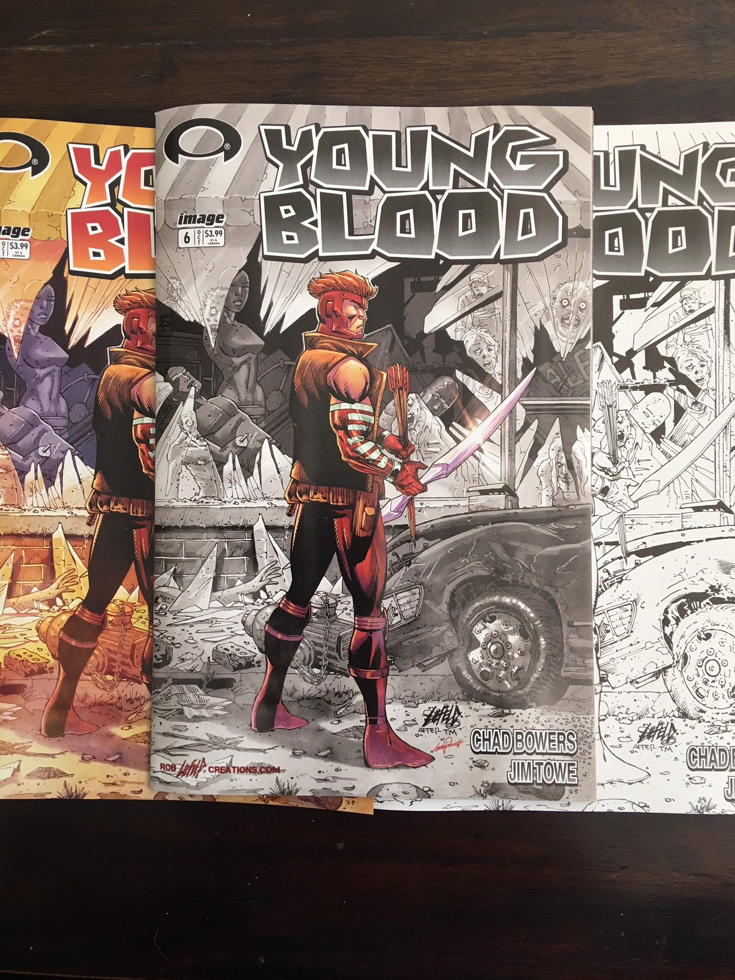Youngblood Walking Dead Variant Pack
