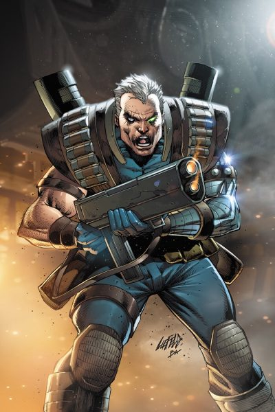 Cable cover for Dallas Fan Expo Extreme VIP Liefeld