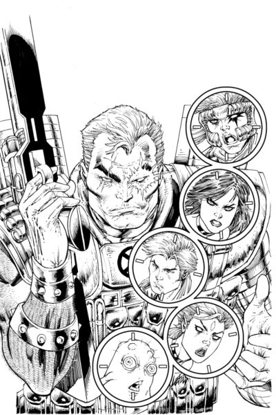Cable and The New Mutants #150 Rob Liefeld variant cover