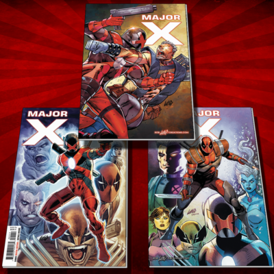 Major X #1 Exclusive Liefeld cover pack!