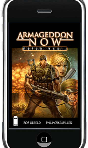 Armageddon Now on Comixology!