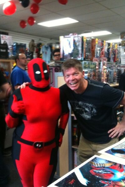 Deadpool Corps. Signing at Beach Ball Comics!