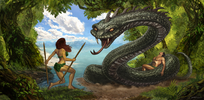 Eve and the Garden of Eden! Strange Bible Stories and Rob Liefeld