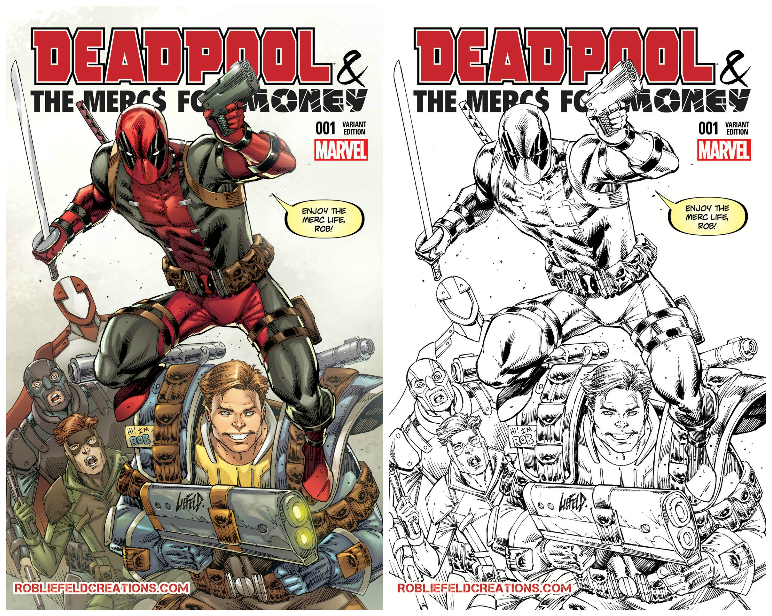 Deadpool Mercs Bundle