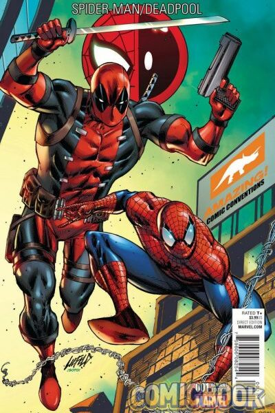 Spiderman/Deadpool #1 Color Variant Signed Excluisive