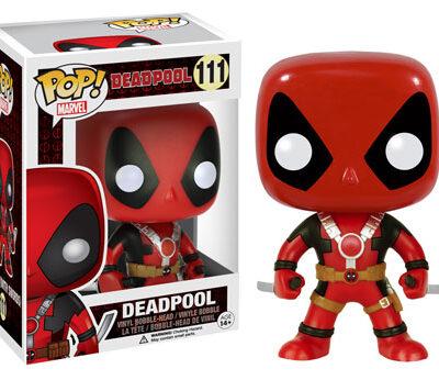 Deadpool Pop Swords Up