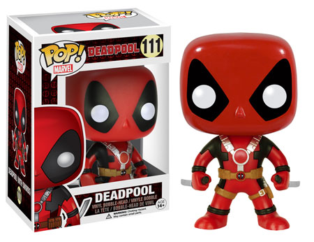 Deadpool Pop Swords Up