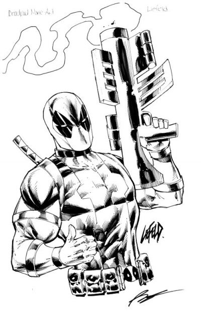 rob liefeld artwork for sale