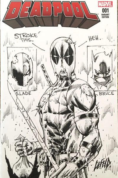 Deadpool #1 Sketch Cover