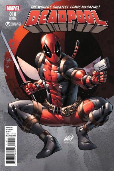 Deadpool Variant 18