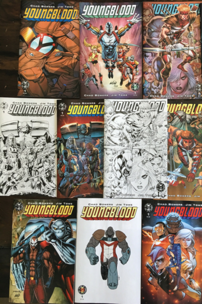 Youngblood Variant MEGA-PACK