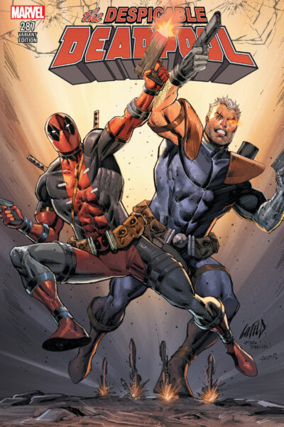 Despicable Deadpool Cable Variant