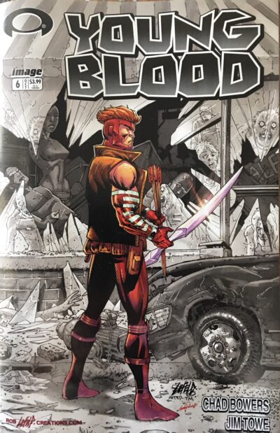 Youngblood Walking Dead Variant