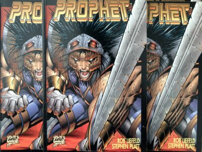 Photo of rare Prophet Trade Collection by Rob Liefeld.