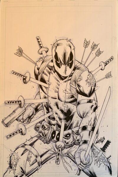 Deadpoo Original Cover Art