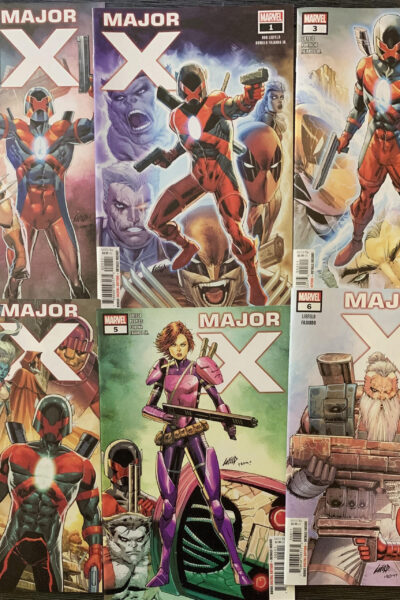 6 MAJOR X SUPER PACK COVERS