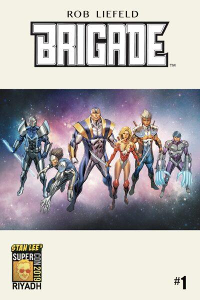 cover art of Brigade Stan Lee Comic
