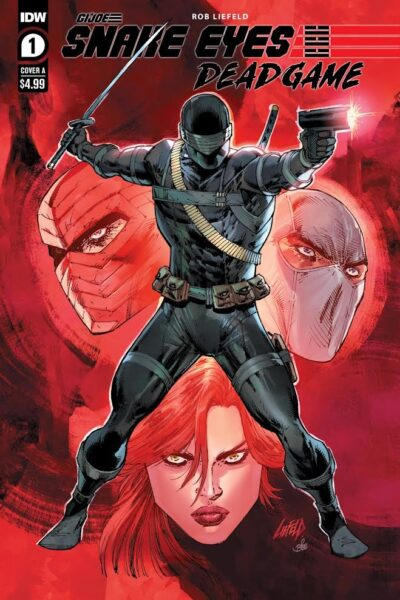 cover art for SNAKE EYES: DEADGAME #1A