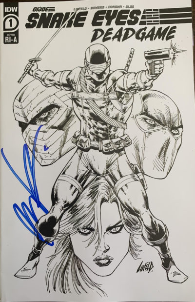 Cover of SNAKE EYES #1 SKETCH COVER