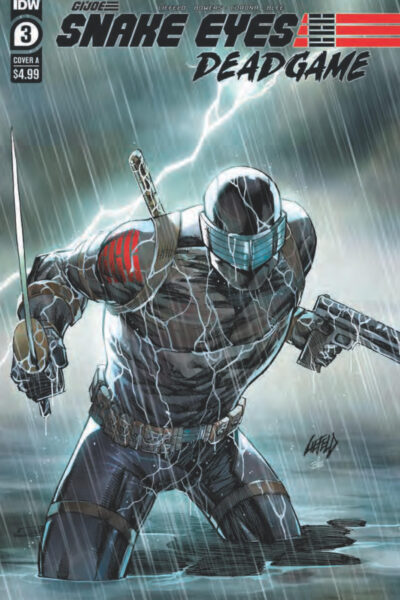 SIGNED SNAKE EYES #3 Cover A