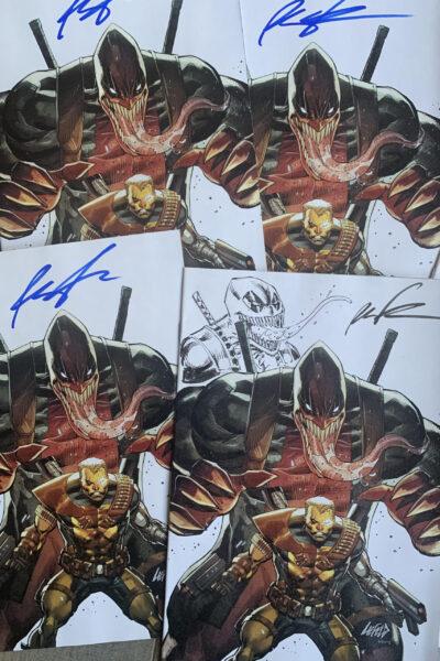 VENOMPOOL exclusive signed cover!